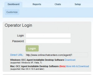 OCC Mac OS Agent Desktop Software