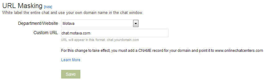 white label live chat