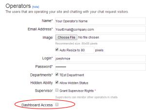 Dashboard-Access