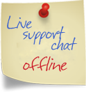 Live Chat Support Offline