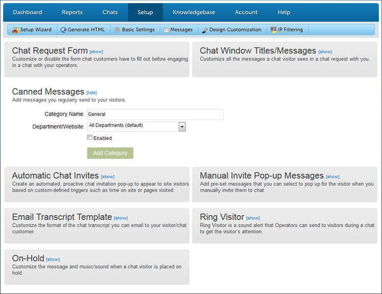 Email chatting websites